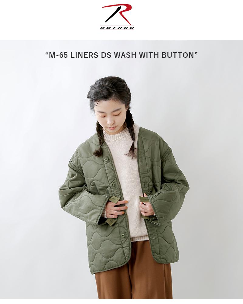 """ROTHCO(ロスコ)M-65キルティングノーカラージャケット""""M-65LINERSDSWASH""""liners-dswash"""