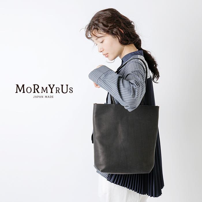 mormyrus(モルミルス)レザーミニマルトートバッグTALL m-121