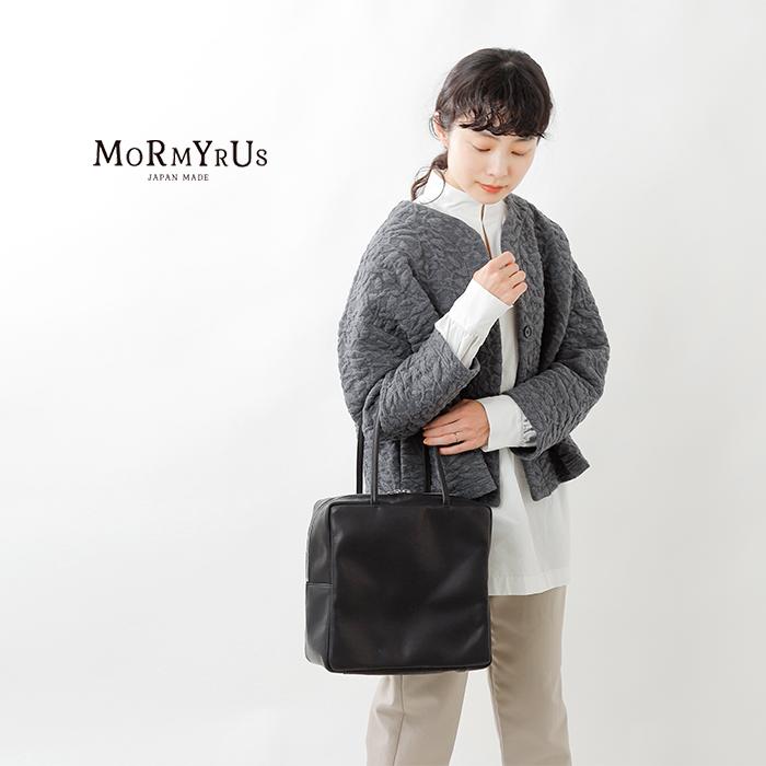 mormyrus(モルミルス)レザースクエアトートバッグ m-148