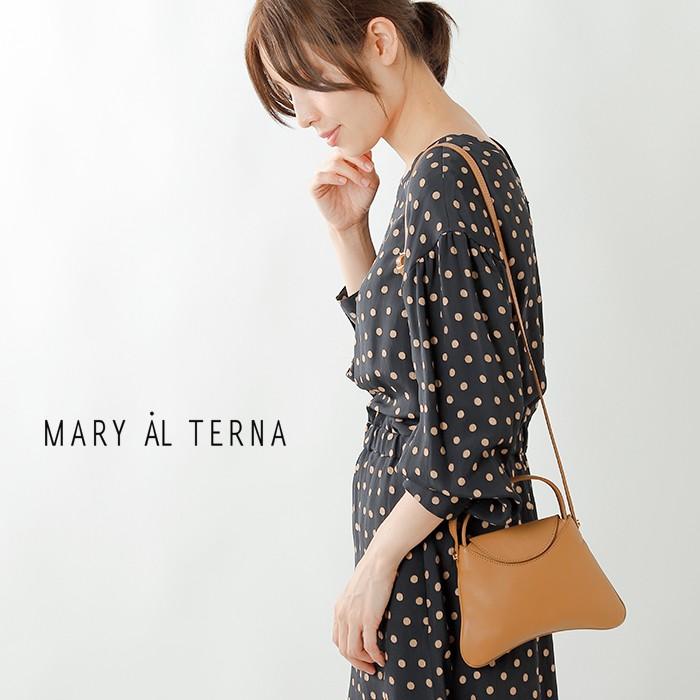"MARY AL TERNA(メアリオルターナ)スムースレザーミニショルダーバッグ""HANG"" ma9202bg-10"