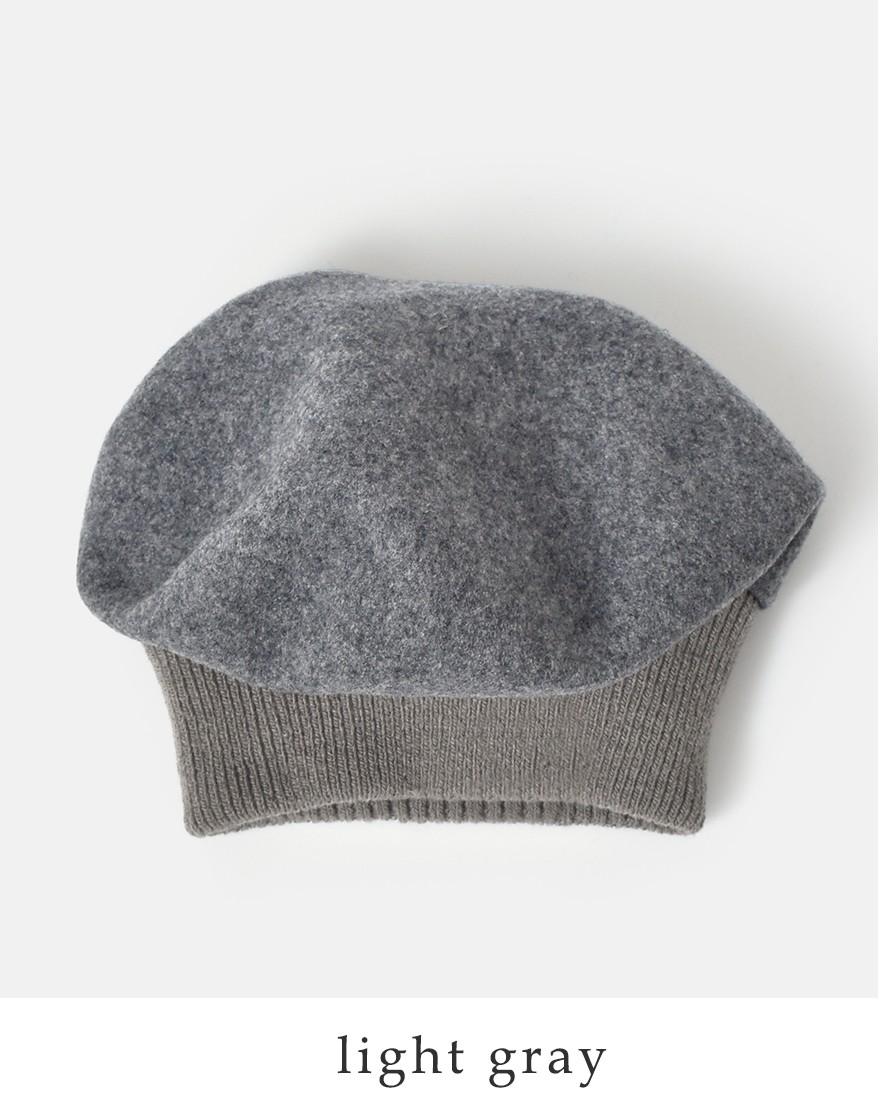 "chisaki(チサキ)ウールベレー帽""MACON"" macon"