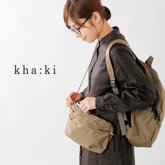 kha:ki(カーキ)3wayバックパックmil-19sbg35