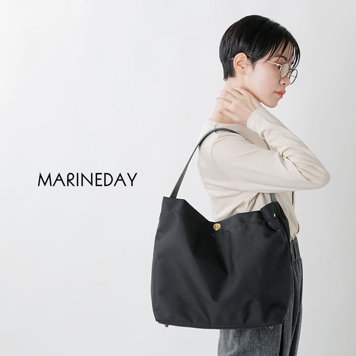 """MARINE DAY(マリンデイ)66ナイロン×栃木レザーミニトートバック""""mini fish"""""""