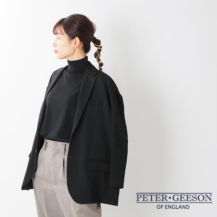 PETER GEESON(ピーターギーソン)モックネックニットプルオーバー mock-neck