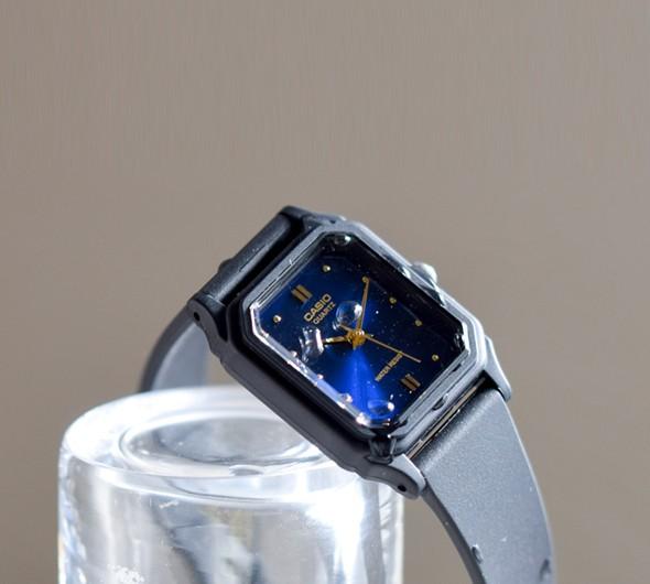 "CASIO(カシオ)<br>アナログスクエアフェイス レディース腕時計 lq-142e"" organicbrassearrings-s"