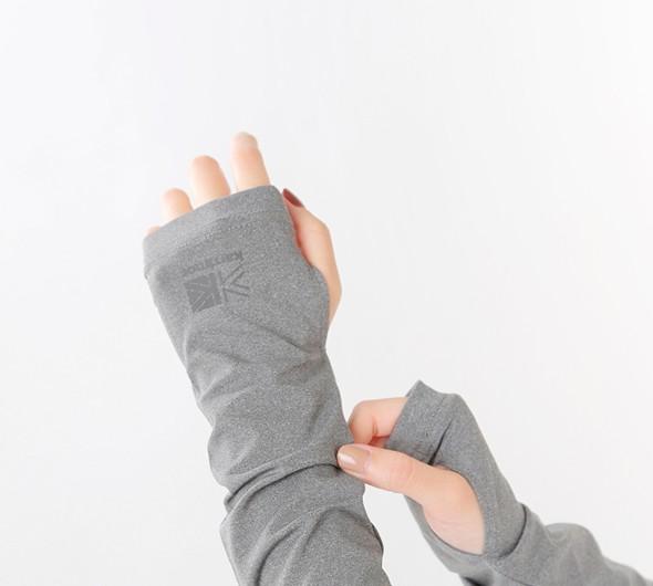 "karrimor(カリマー)<br>ポリエステルUVカットアームカバー""UV arm cover"" 5a01ubj2"