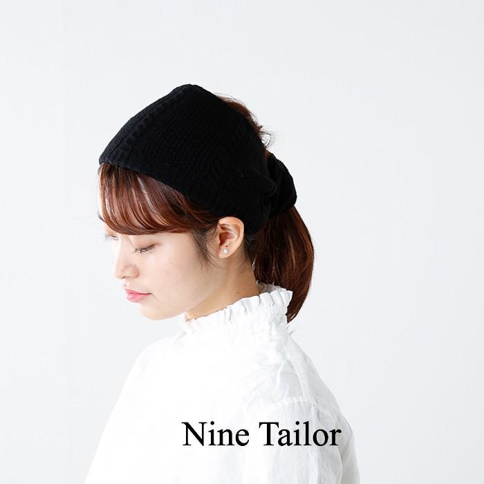 """Nine Tailor(ナインテイラー)2wayリバーシブルネックウォーマー/ヘアバンド""""Amp neckwarmer"""" n-192"""