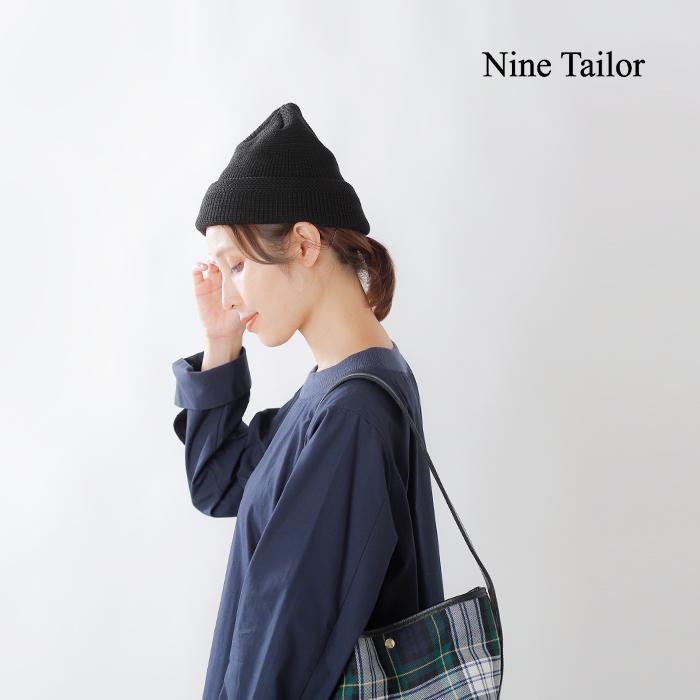 """Nine Tailor(ナインテイラー)ウールニットキャップ""""Cuez Watch"""" n-350"""