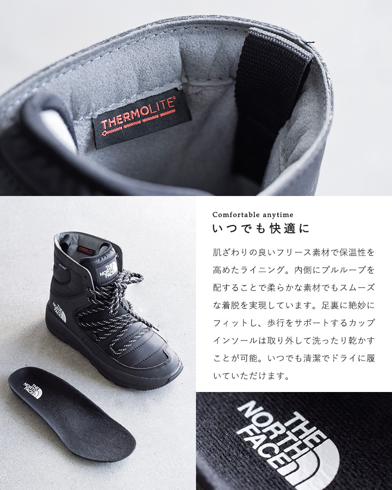 """THE NORTH FACE(ノースフェイス)アプレレース""""Apres Lace"""" nf51881"""