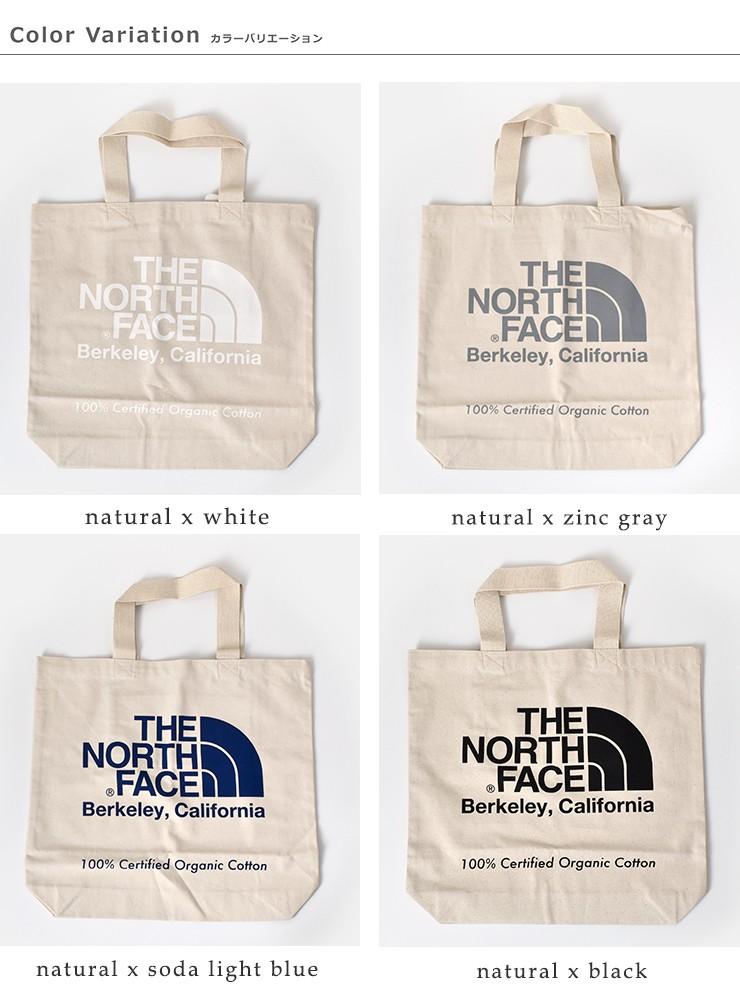 THE NORTH FACE(ノースフェイス)TNFオーガニックコットン トートバッグ nm81971
