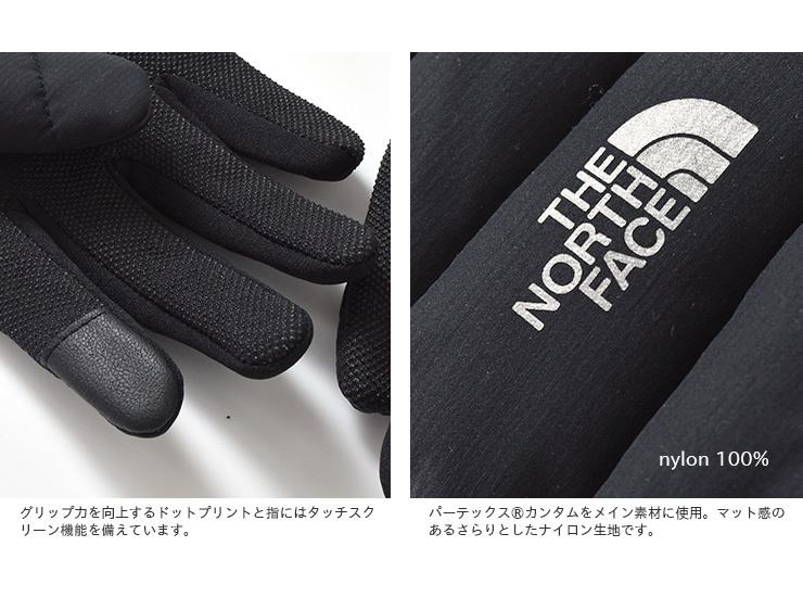 """THE NORTH FACE(ノースフェイス)レッドランプログローブ""""Red Run Pro Glove"""" nn61972"""