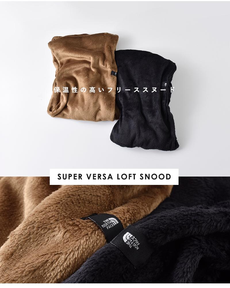 "THE NORTH FACE(ノースフェイス)スーパーバーサロフトスヌード""Super Versa Loft Snood"" nn71901"