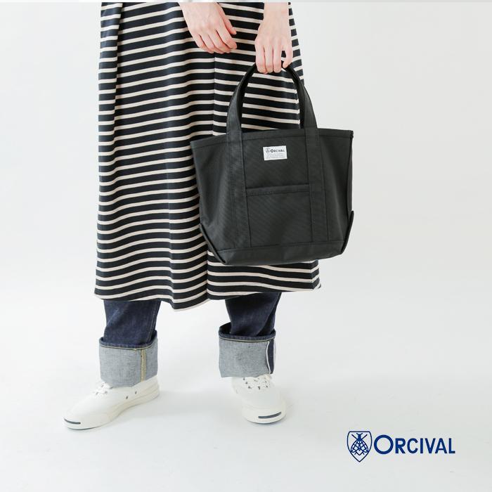 ORCIVAL(オーチバル)コーデュラナイロントートバッグ S rc-7060pvc-ar