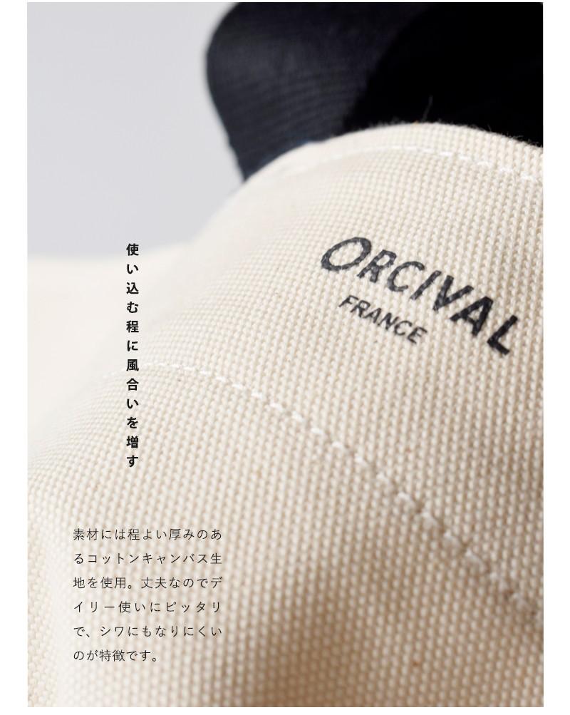 ORCIVAL(オーチバル・オーシバル)ライトキャンバスラウンドトートバッグ rc-7186lcv