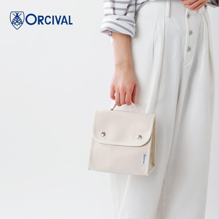 ORCIVAL(オーチバル・オーシバル)24oz帆布スクエアフラップショルダーバッグ rc-7235hvc