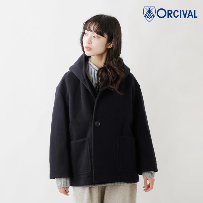 ORCIVAL(オーチバル・オーシバル)ライトウールモッサフードコート rc-8078nlm