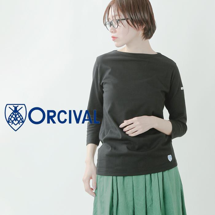 ORCIVAL(オーチバル・オーシバル)40/2ジャージー七分袖プルオーバー rc-9224