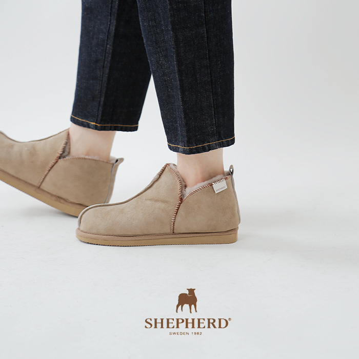 "SHEPHERD(シェパード)シープスキンムートンシューズ""ANNIE"""