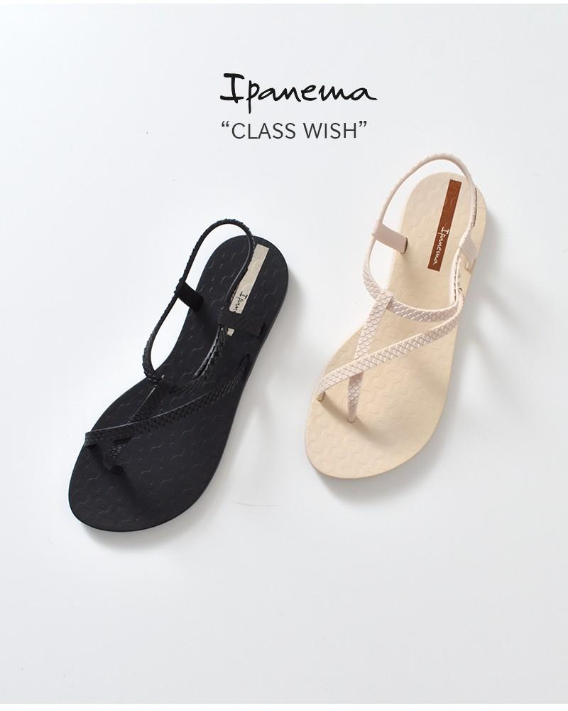 """Ipanema(イパネマ)ビーチフラットストラップサンダル""""CLASS WISH"""" sp26452"""