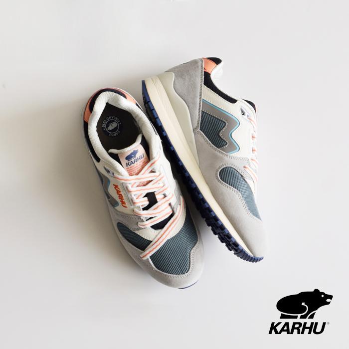 "KARHU(カルフ)シンクロンクラシック スエードスニーカー""SYNCHRON CLASSIC"""