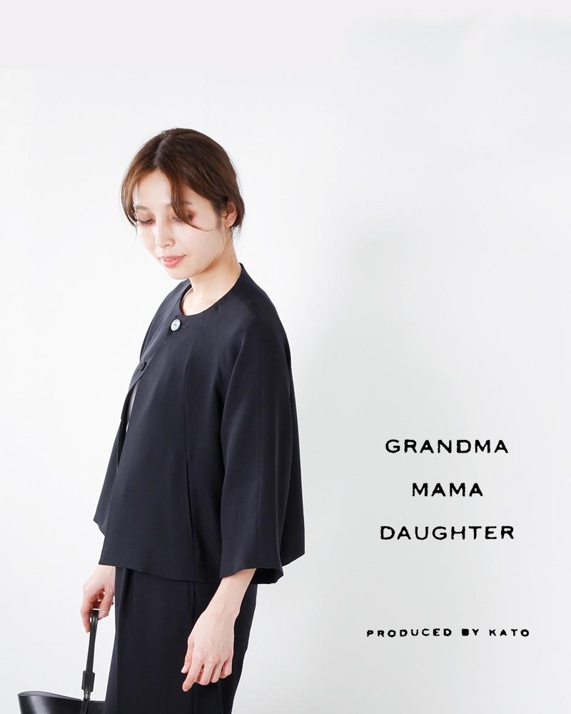 GRANDMA MAMA DAUGHTER toro(グランマ ママ ドーター トロ)ラグランスリーブノーカラージャケット tj711481