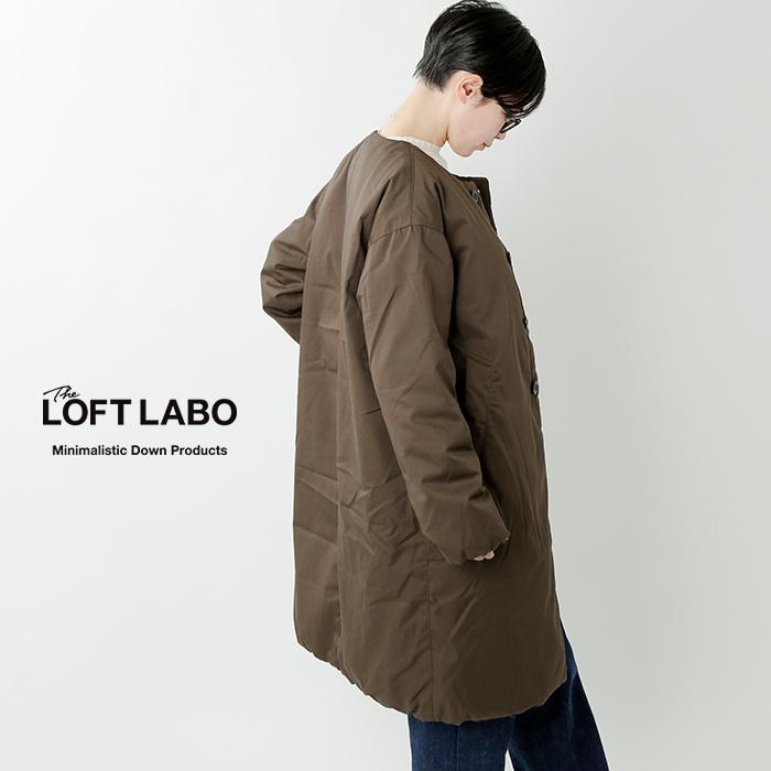 "The Loft Labo(ロフトラボ)×NANGA(ナンガ)ノーカラーダウンコート""GRAB"" tl18fjk21"