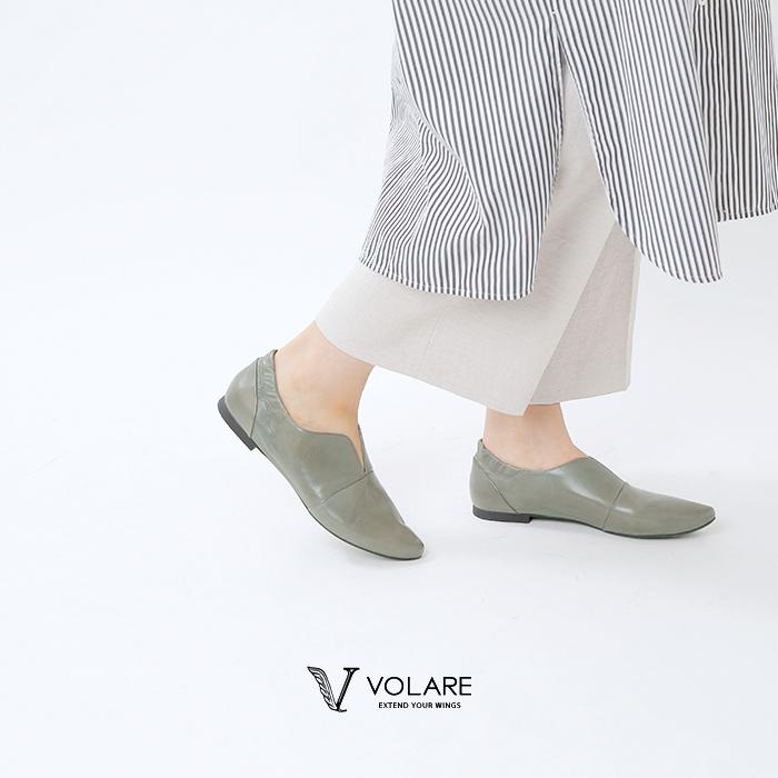"""volare(ヴォラーレ)ローヒールポインテッドトゥスリッポン""""VOLA2"""" vola2"""