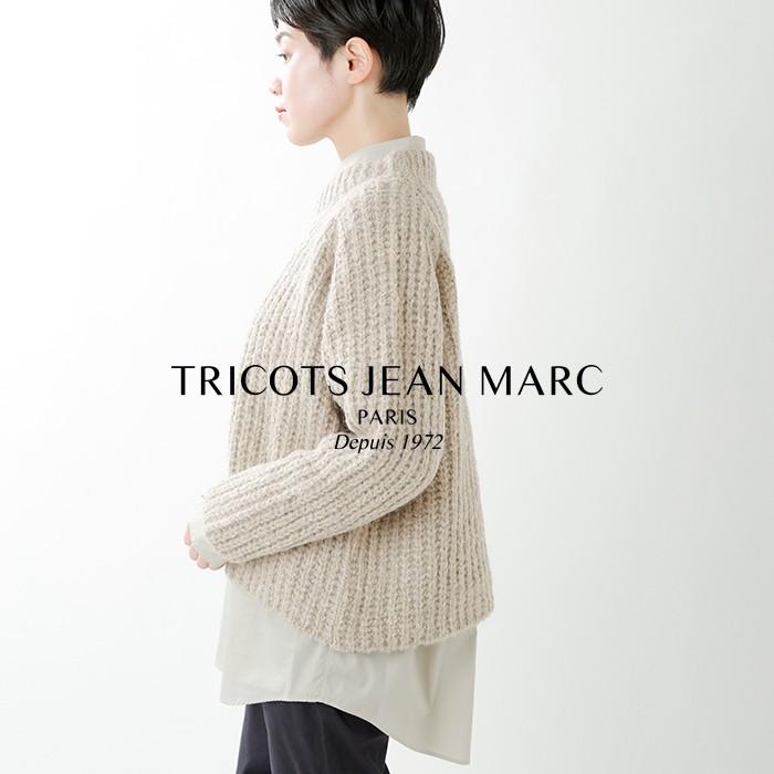 TRICOTS JEAN MARC(トリコジャンマルク)ローゲージワイドニットプルオーバー williamicot