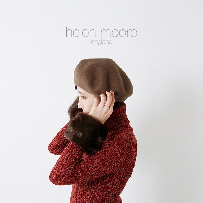 helen moore(ヘレンムーア)エコファーリストウォーマー wrist
