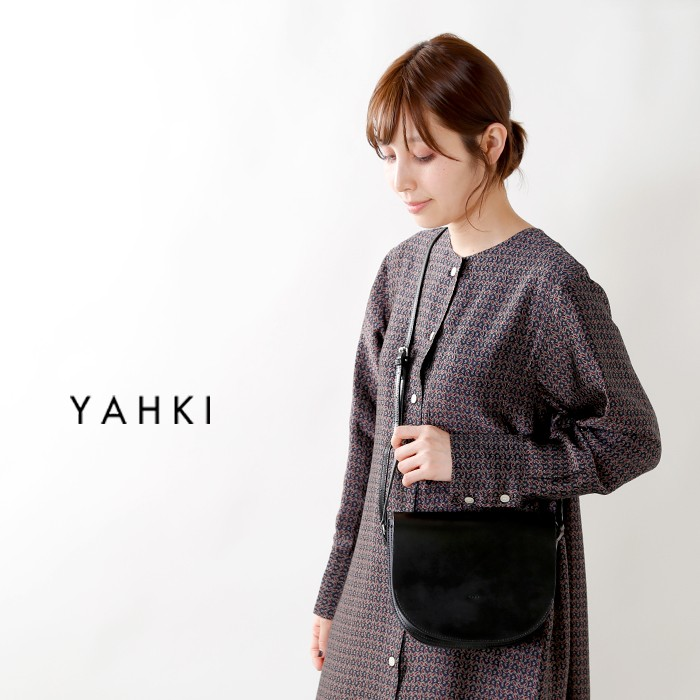 YAHKI(ヤーキ)ダブルフェイスレザーショルダーバッグ yh-131