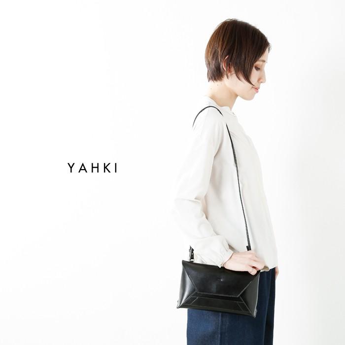 YAHKI(ヤーキ)レザーWフェイスショルダーバッグyh-160