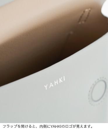 YAHKI(ヤーキ)ダブルフェイスレザーショルダーバッグ yh-251
