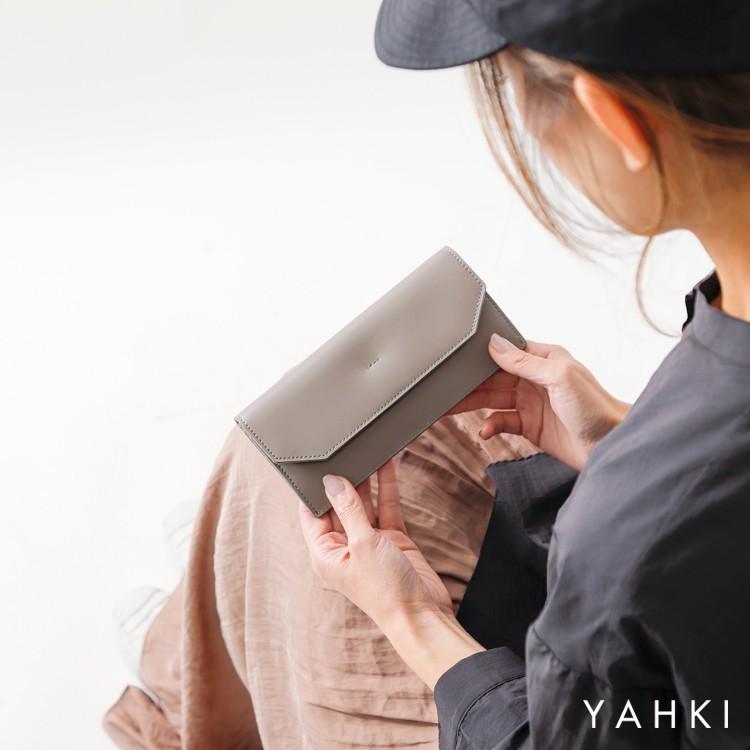 YAHKI(ヤーキ)スムースレザーロングウォレット yh-261