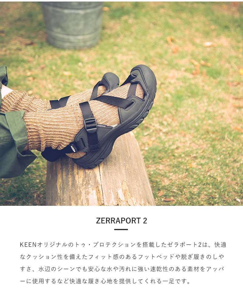 "KEEN(キーン)ゼラポート2スポーツストラップサンダル""ZERRAPORT 2"" zerraport-2"
