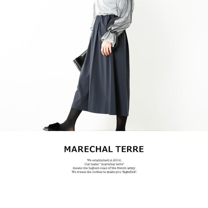 MARECHAL TERRE(マルシャルテル)ウエストギャザーガウチョパンツ zmt173pt962