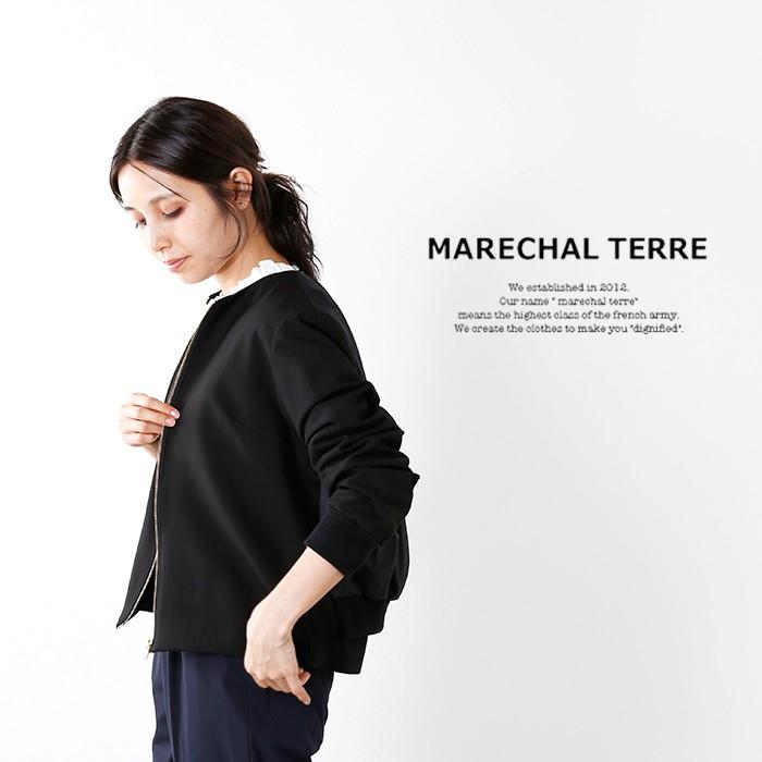 MARECHAL TERRE(マルシャルテル)バックタックブルゾン zmt175bz105