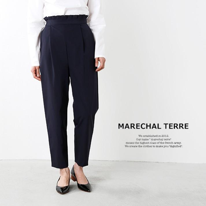 MARECHAL TERRE(マルシャルテル)タックデザインパンツ zmt175pt127