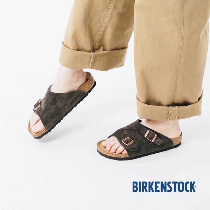 """BIRKENSTOCK(ビルケンシュトック)2ベルトスウェードサンダル""""ZURICH"""" zurich"""