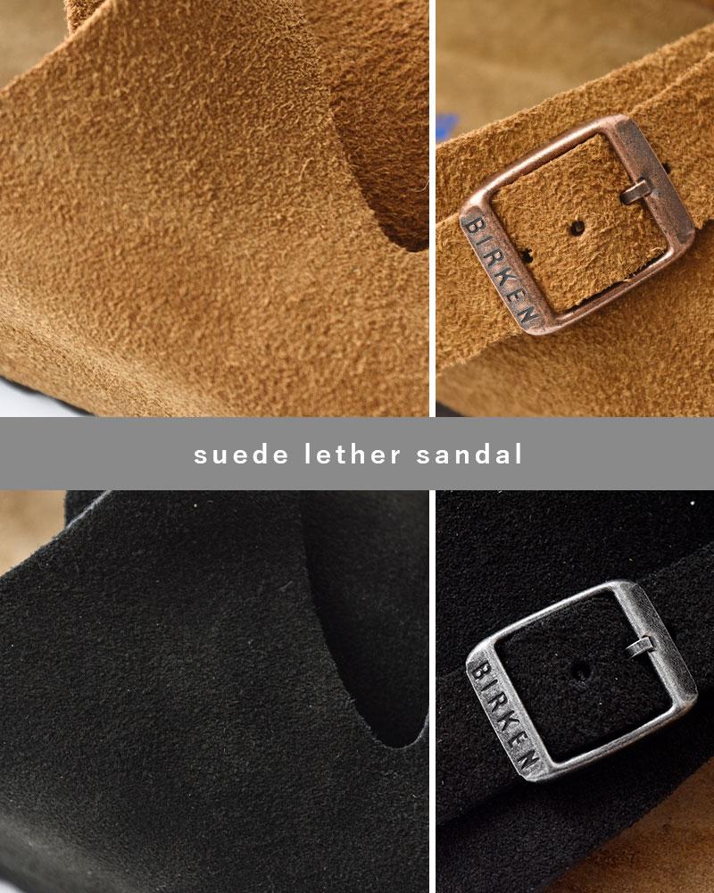 """BIRKENSTOCK(ビルケンシュトック)スウェードレザー2ベルトサンダル""""ZURICH SFB"""" zurich-sfb"""