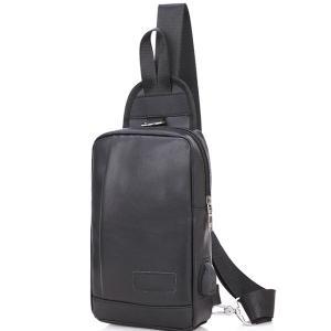 バッグで携帯充電 USBポート搭載 ケーブル付 ボディバッグ メンズ レディース ワンショルダー ボディーバッグ おしゃれ 軽量 斜めがけ ウエストポーチ|arcade|24