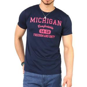 Tシャツ メンズ 吸汗速乾 ドライメッシュ素材 アメカジT カレッジT M L LL 3L 脇汗対策 メンズ トップス メンズファッション Tシャツ カットソー 2019 春 夏 arcade 19