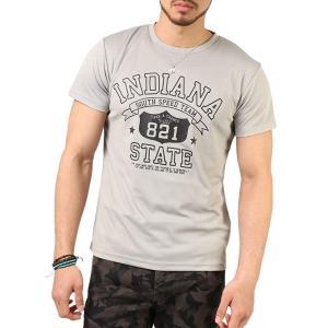 Tシャツ メンズ 吸汗速乾 ドライメッシュ素材 アメカジT カレッジT M L LL 3L 脇汗対策 メンズ トップス メンズファッション Tシャツ カットソー 2019 春 夏 arcade 35