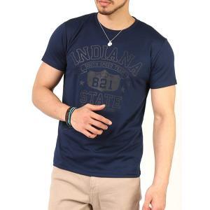 Tシャツ メンズ 吸汗速乾 ドライメッシュ素材 アメカジT カレッジT M L LL 3L 脇汗対策 メンズ トップス メンズファッション Tシャツ カットソー 2019 春 夏 arcade 34