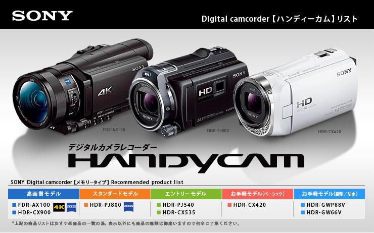 アーチホールセールヤフー店ソニービデオカメラ