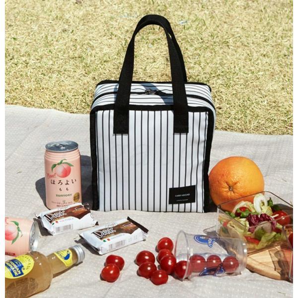 トートバッグ レディース 保冷バッグ お弁当バッグ 遠足 春物 お弁当トートバッグ ランチバッグ 鞄 バッグ ランチ保冷バッグ ファスナー付き|arigatosan|24