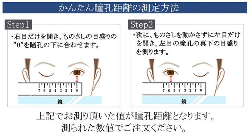 瞳孔距離測定法