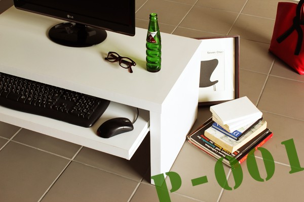 ロータイプパソコンデスク