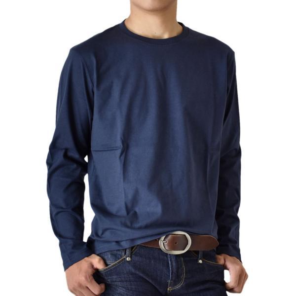 ストレッチTシャツ 無地 長袖Tシャツ ロングTシャツ クルー Vネック メンズ 送料無料 通販M《M1.5》|aronacasual|23