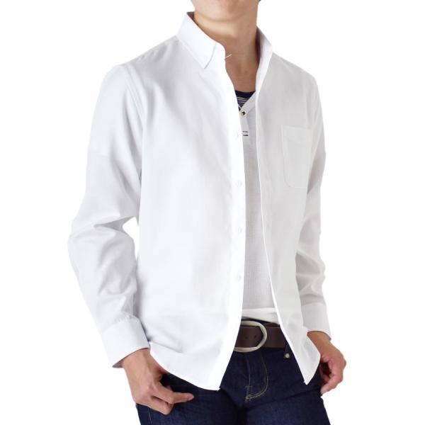 シャツ メンズ オックスフォードシャツ ボタンダウンシャツ 長袖 得トクセール セール 送料無料 通販M《M1.5》|aronacasual|21