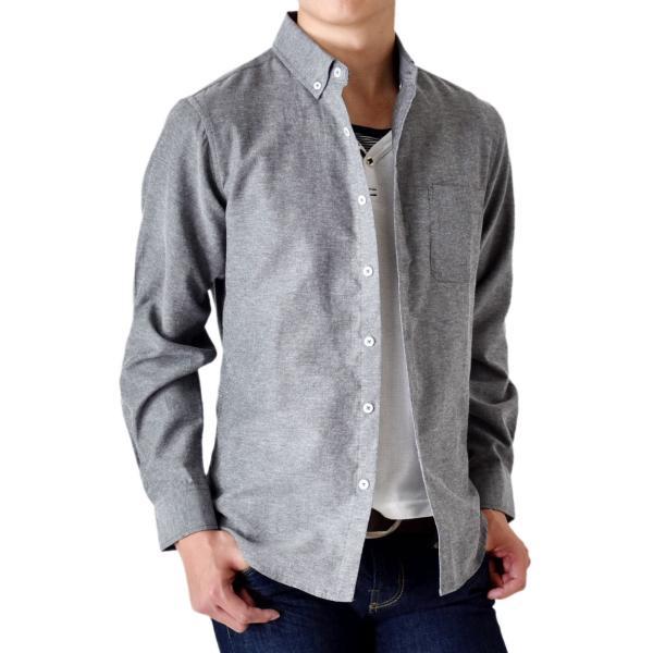 シャツ メンズ オックスフォードシャツ ボタンダウンシャツ 長袖 得トクセール セール 送料無料 通販M《M1.5》|aronacasual|22